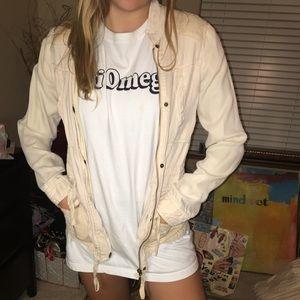 blush stylish jacket